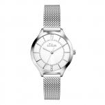 s.Oliver Damenuhr SO-3219-MQ Damen Edelstahl Armbanduhr Uhr