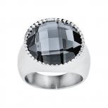 s.Oliver Damenring SO1145 Ring Gr. 56 Statementring Silber Ring