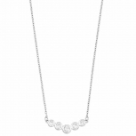 s.Oliver Damen Kette SO1403 Damenkette 45 cm Collier
