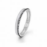 s.Oliver Damen Armband SO1438 Lederarmband Leder Silber