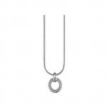 s.Oliver Damen Kette SO595 Halskette Silber Collier
