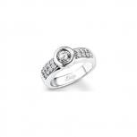 s.Oliver Damenring SO827 Ring Silber Gr. 56 Neuheit