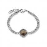 s.Oliver Damen Armband SO872 Edelstahl Silber Neuheit