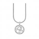 s.Oliver Damen Kette SO929 Damenkette Collier Silberkette