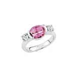 s.Oliver Damenring SO954- Silber Ring Gr 56 Silber