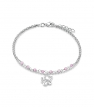 s.Oliver Damen Armband SOK171 Schmetterling Kinderschmuck Mädchen