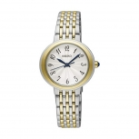 Seiko Damenuhr SRZ506P1 Damen Business Uhr Armbanduhr Silber Oval
