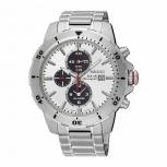 Seiko Herrenuhr SSC553P1 Solar Alarm Armbanduhr Chronograph Uhr