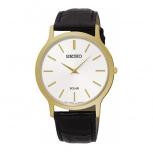 Seiko Herrenuhr SUP872P1 Armbanduhr Herren Gold Solar Uhr