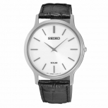 Seiko Herrenuhr SUP873P1 Armbanduhr Herren Silber Solar Uhr