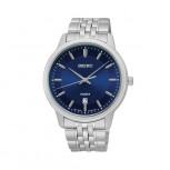 Seiko Herrenuhr SUR029P1 Armbanduhr Herren Uhr Silber