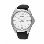 Seiko Herrenuhr SUR213P1 Armbanduhr Herren Uhr Silber