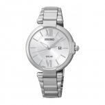 Seiko Damenuhr SUT153P1 Solar Uhr Armbanduhr Solaruhr Gangreserve 10 Monate