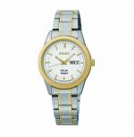 Seiko Damenuhr SUT162P1 Solar Uhr Armbanduhr Solaruhr Datum