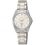 Seiko Damenuhr SXDF59P1 Armbanduhr Damen Uhr Saphirglas Datum Sekunde