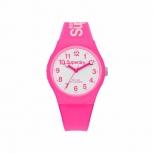 Superdry Damenuhr SYG164PW Uhr Armbanduhr Urban Pink