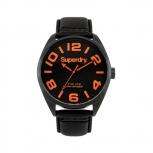 Superdry Herrenuhr SYG192BRA Uhr Armbanduhr Uhr Military Nato schwarz