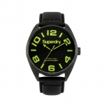 Superdry Herrenuhr SYG192BYA Uhr Armbanduhr Uhr Military Nato schwarz