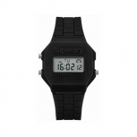 Superdry Herrenuhr SYG201B Uhr Armbanduhr Digital Retro Digitaluhr schwarz