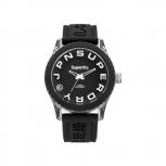 Superdry Herrenuhr SYL146BW Uhr Armbanduhr Tokyo schwarz