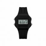 Superdry Damenuhr SYL201B Uhr Armbanduhr Retro Digitaluhr schwarz