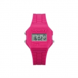 Superdry Damenuhr SYL201P Uhr Armbanduhr Mini Retro Digitaluhr Pink