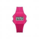 Superdry Damenuhr SYL201P Uhr Armbanduhr Retro Digitaluhr Pink