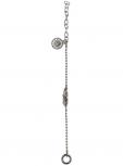 Traumfänger Damen Armband TFB03SS Silber Fußkettchen Armkette