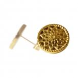 Traumfänger Ohrringe TFE01SGO Gold Stern Blume Ohrstecker