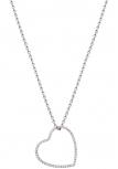 XENOX Damen Armband X2533 Silber Halskette mit Anhänger Herz