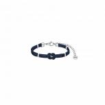 XENOX Damen Armband X6448 Silber Leder Ocean Park Schmuckarmband Lederarmband