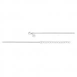 XENOX Damen Kette XK500-45 Silber 45cm
