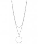 XENOX Damen Kette XS1360 Silber Ketten - Anhänger Halskette Collier