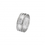 XENOX Damenring XS1365 Silber Ring Fingerring Friends Silberring Gr. 56
