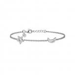 XENOX Damen Armband XS1522 Armkette Silber Stern Damenarmband