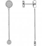 XENOX Ohrringe XS1583 Silber Ohrstecker Ohrhänger Damenohrringe