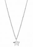 XENOX Damen Kette XS1635 Silber 45 cm Collier Halskette Stern Halsschmuck