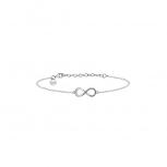 XENOX Damen Armband XS2764 Armkette Silber Unendlichkeit Infinit Schmuckband