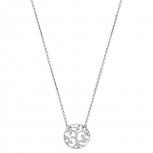 XENOX Damen Kette XS2896 Silber Baum 45cm Lebensblume Symbolic Power Halskette