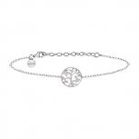 XENOX Damen Armband XS2897 Armkette Silber Baum