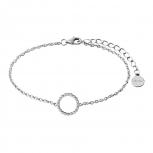 XENOX Damen Armband XS2934 Armkette Silber Kreis Schmuckarmband