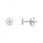 XENOX Ohrringe XS3554 Silber Ohrstecker Damenohrringe Ohrschmuck Blume