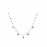 XENOX Damen Kette XS3775 Silber Ketten - Anhänger Halskette Collier
