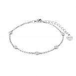 XENOX Damen Armband XS3776 Silber Armkette Schmuckarmband