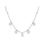 XENOX Damen Kette XS3783 Silber Ketten - Anhänger Halskette Collier