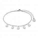 XENOX Damen Armband XS3785 Silber Armkette Schmuckarmband