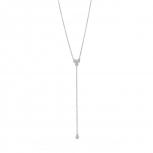 XENOX Damen Kette XS4161 Silber 45 cm Collier Halskette mit Anhänger