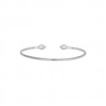 XENOX Damen Armband XS4168 Silber Reif Opal Armreif Soul Sister