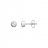 XENOX Ohrringe XS7028 Silber Ohrstecker Damenohrringe Ohr Stecker