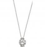 XENOX Damen Kette XS7080 Silber 45 cm Collier Halskette Anhänger